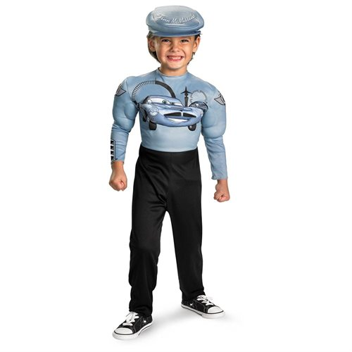 Disney Cars 2 Finn McMissile Classic Muscle Toddler/Child Halloween Costume 0