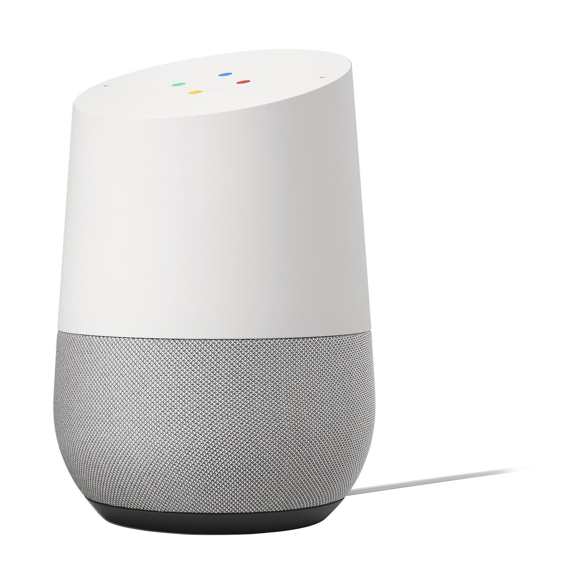 Google Home Hands-Free Smart Speaker and Voice Controlled Home Assistant - White 0