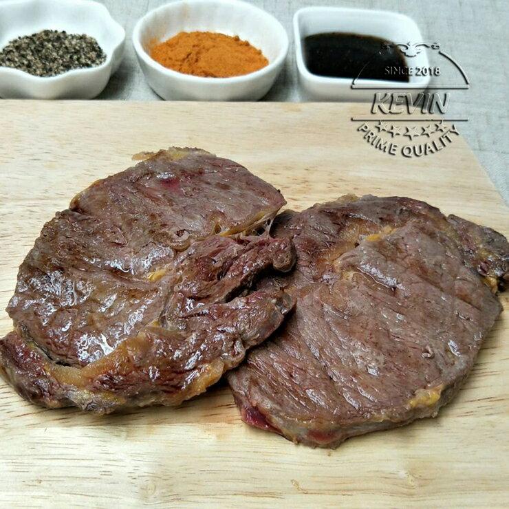 今日限時 免運費【凱文肉舖】澳洲肋眼沙朗牛排3包( 200g / 包) 4