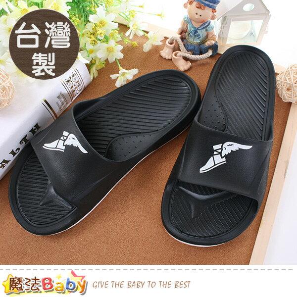 男鞋台灣製輕量彈力運動拖鞋魔法Baby~sa83800