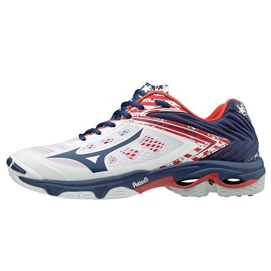 mizuno volleyball shoes orange 4g