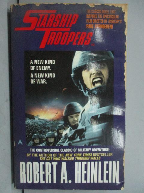 ~書寶 書T4/原文小說_LPA~Starship Troopers_Robert A.