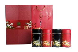 頂極【台灣茗茶大師】氣韻天成茶葉禮盒~雍容自若 尊貴時尚 禮盒顏色有金色、紅色二款選擇喔! 欲訂購5盒以上, 請發mail 給我們喔!