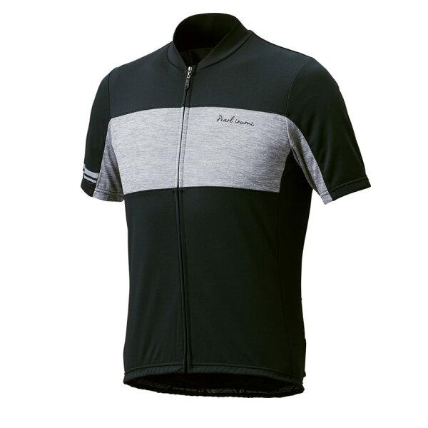 【7號公園自行車】PEARLIZUMI631-B-1基本款男性短袖車衣(藍)