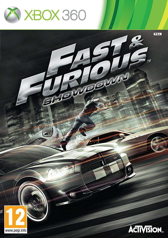 XBOX 360 玩命關頭:攤牌 -英文版- Fast & Furious Showdown