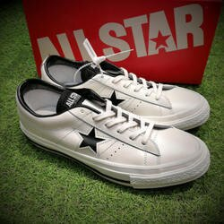 Converse ONE STAR J   白色 皮革   休閒鞋 男女鞋
