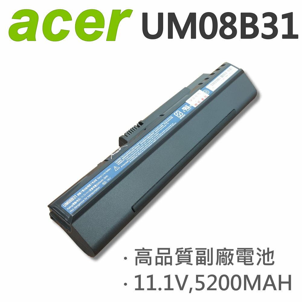 ACER 宏碁 黑 UM08B31 6芯 日系電芯 電池 A110 A150 D150 D250 531h A110X AOD150 AOD250 UM08A73 UM08A74
