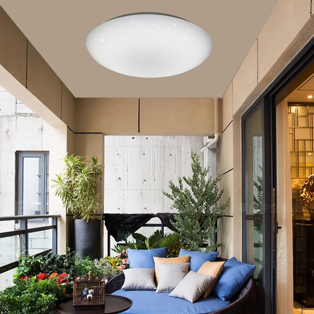 亮博士 / 亮麗星空 LED 18W 全電壓 吸頂燈 白光 黃光 /  /  永光照明DR-REC-18W%D✈99購物節 3