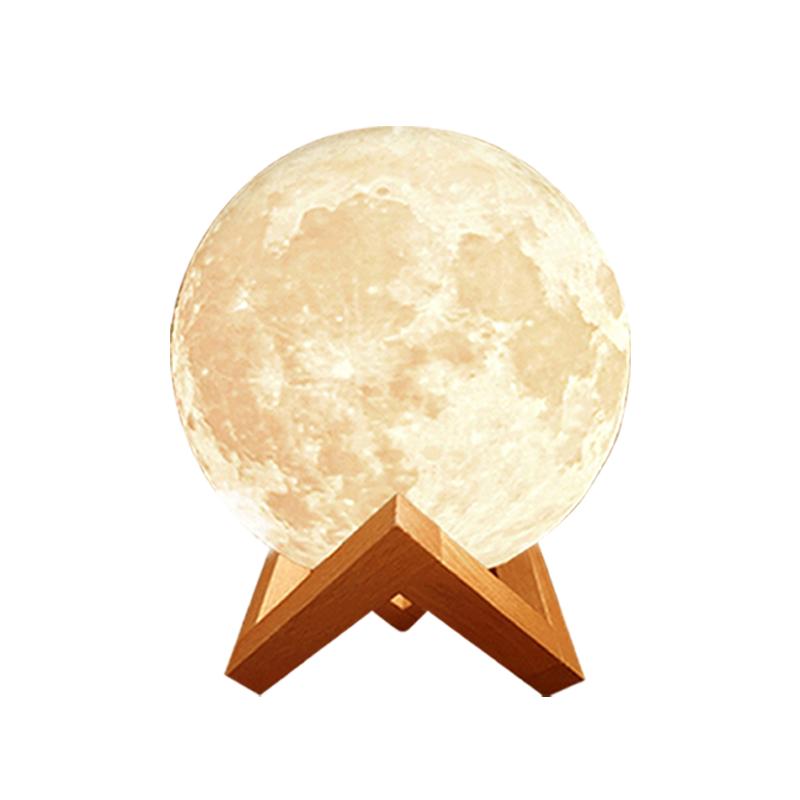 情人居家日【特價】【3D月球燈香薰器】精油燈 薰香機 香薰機 加濕器 水氧機 空氣淨化器 小夜燈 香氛機【AB468】 1