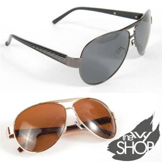 質感雷朋偏光抗UV太陽眼鏡 (共2色)→台灣製造.Polarized 偏光太陽眼鏡【140417-606】Ivy小舖