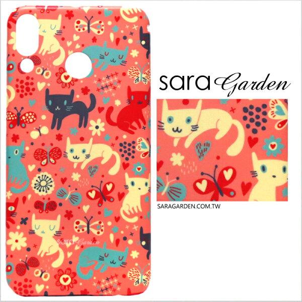 客製化ASUSZenfone55Z5Q手機殼多型號製作粉嫩貓咪蝴蝶