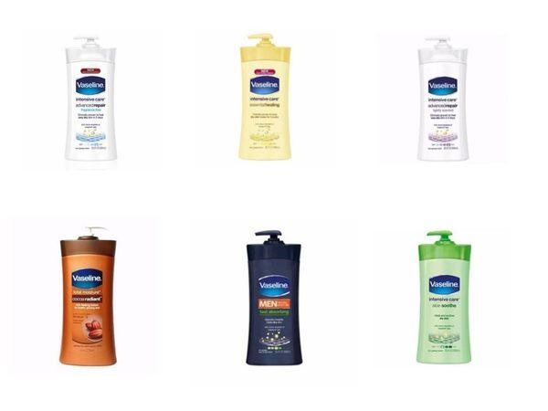Vaseline 凡士林 保濕身體乳液 600ml/瓶 6款可選◆德瑞健康家◆