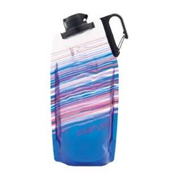 ├登山樂┤美國PlatypusDuoLock軟式握把水瓶1L-藍色天際線#PLATY-09902