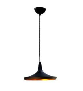 黑色工業風單燈吊燈 E27 * 1 (促銷品)