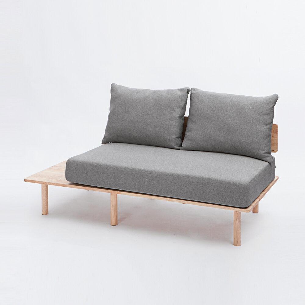 *自然簡約生活休閒二人沙發-生活工場