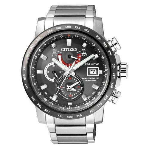 CITIZEN 星辰錶 AT9071-58E 光動能電波錶