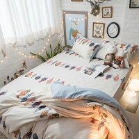 居家生活韓國小魚   枕頭套乙個  100%精梳棉 台灣製 好窩生活節。就在棉床本舖Annahome居家生活