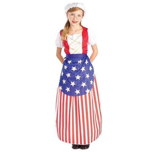 Betsy Ross Heroes In History Child Costume 0