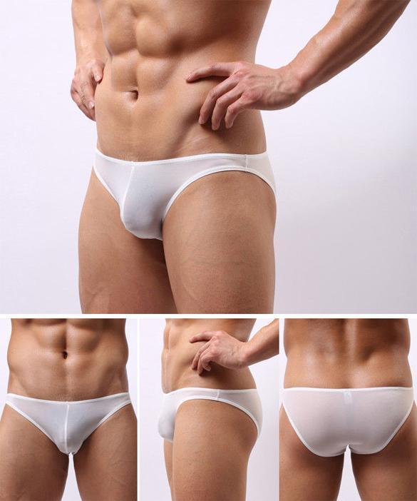 Men Sexy Mini Boxer Briefs Underwear Comfy Enhance Bulge Pouch Bikini Boxers 3