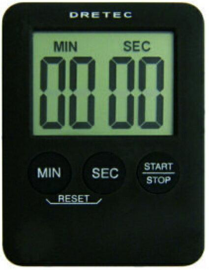 徠福 日本DRETEC(多利可)正、倒數計時器 T-307BK / 個