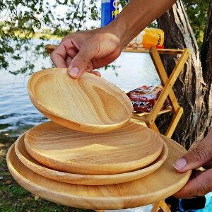 美麗大街 橡膠木 原木圓盤組 4個一組 (中款)【107122009】