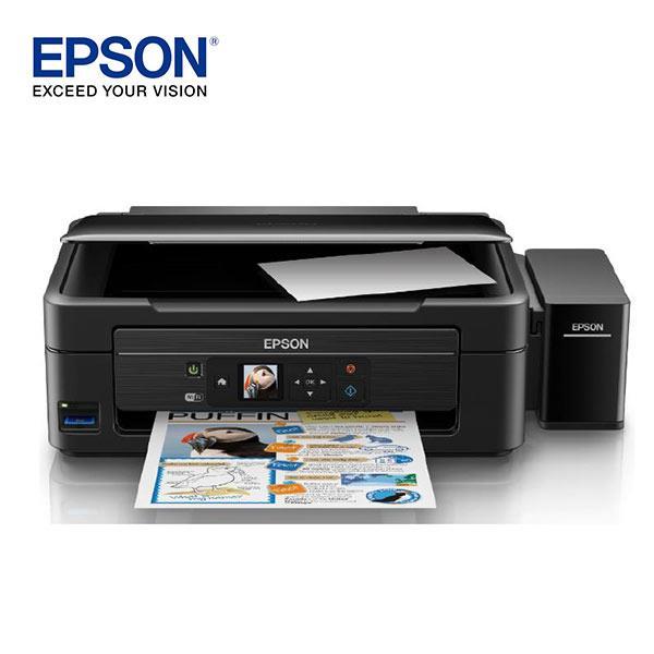 EPSON L485 高速Wi-Fi六合一連續供墨印表機