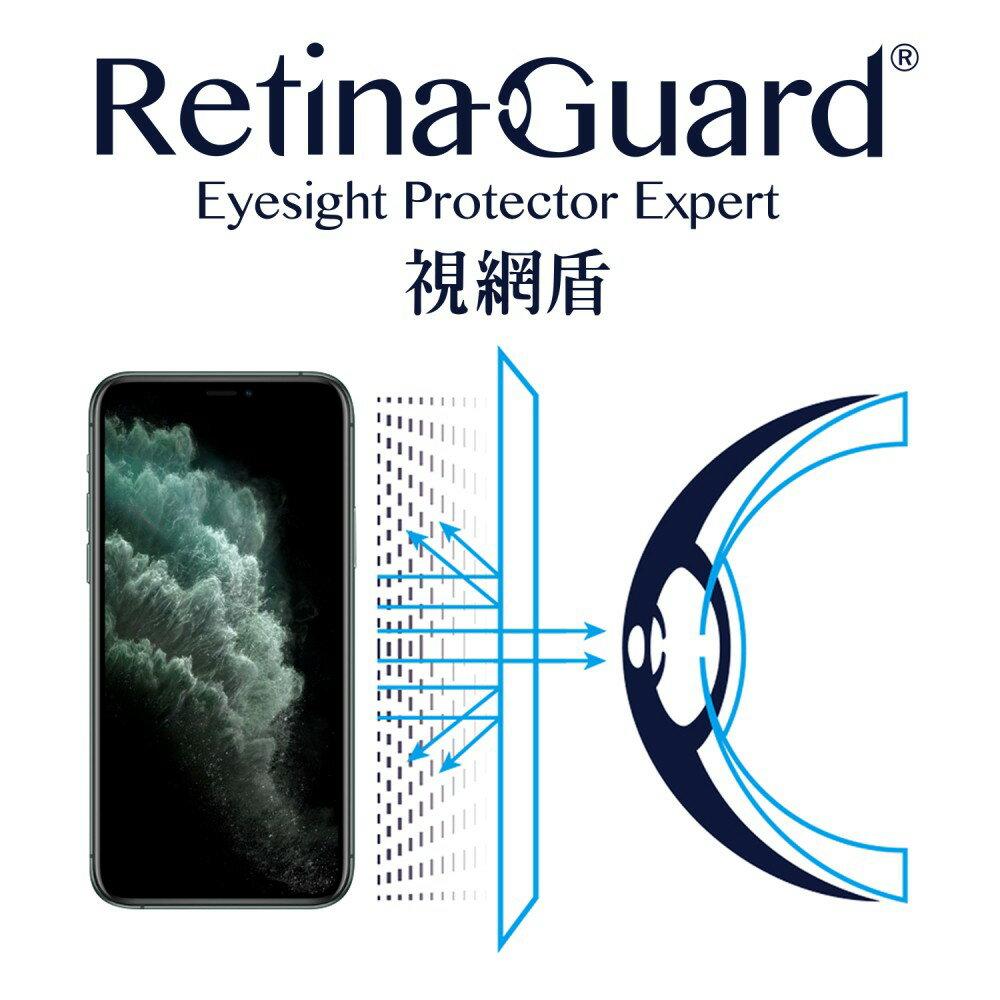 RetinaGuard 視網盾│iPhone 11 Pro 防藍光保護膜│5.8吋│非滿版