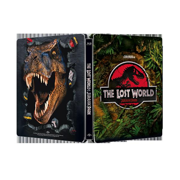 侏羅紀公園:失落的世界 限量進口單碟空鐵盒 The Lost World: Jurassic Park STEELBOOK ( NO DISC )