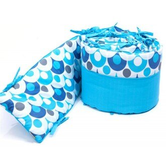 美國【Bloom】Alma Mini摺疊嬰兒床配件 - 護圍 (小)-3色