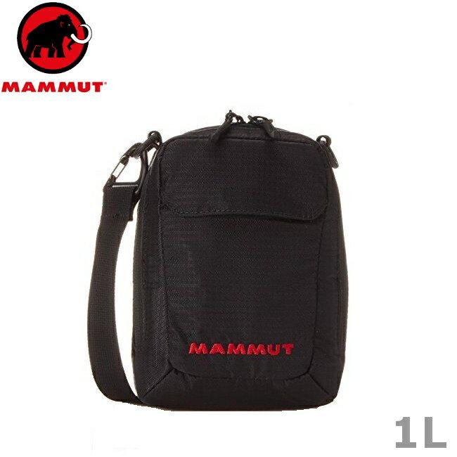 Mammut 長毛象 側背包/隨身包/旅行隨身袋/護照包 2520-00131-0001 TASCH POUCH 黑色1L