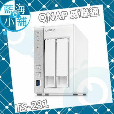 QNAP 威聯通 TS~231 2Bay NAS 儲存伺服器 ~~ 為止 ~  好康折扣