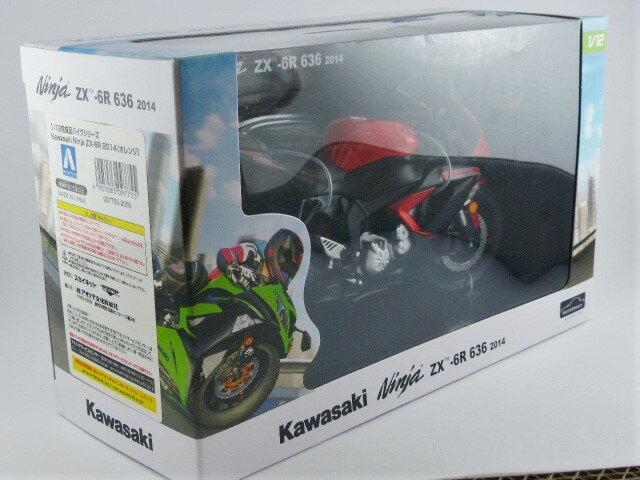 【秋葉園 AKIBA】日本限定品 kawasaki ninja ZX-6R 2014model 摩托車模型 1/12scale 適合一般尺寸公仔 7