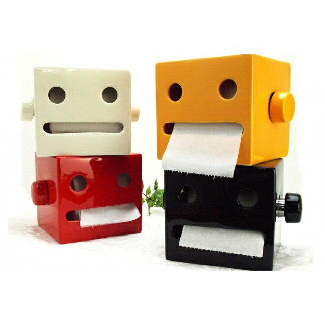 【This-This】日本 ROBOTAN 陶瓷製滾筒式紙巾架 - 共四色