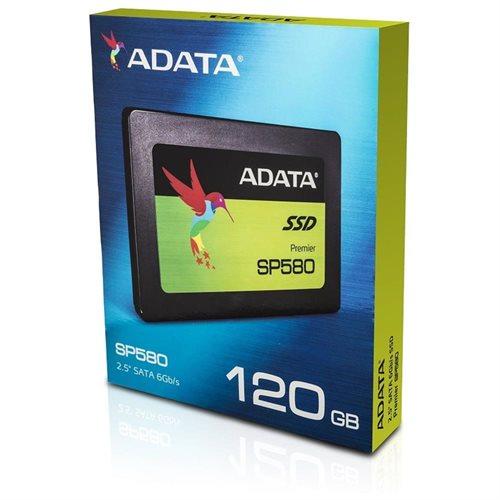 """ADATA Premier SP580 SATA III 2.5"""" Internal SSD 120GB (ASP580SS3-120GM-C) 2"""