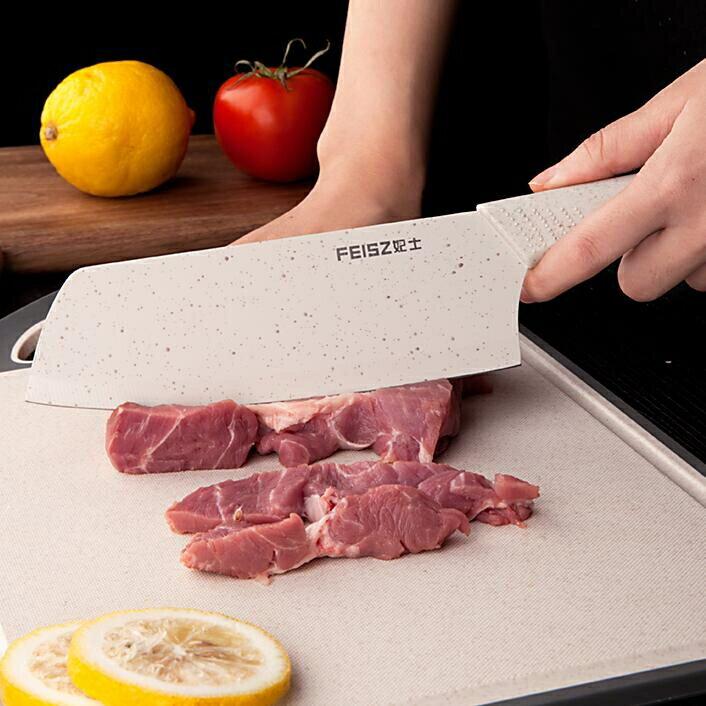 砧板 菜刀菜板二合一家用抗菌防霉水果砧板切菜板塑料粘板輔食刀板【省錢大作戰 全館85折】