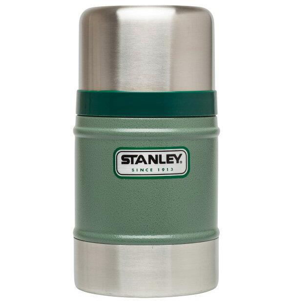 【鄉野情戶外專業】 Stanley |美國| 經典系列真空保溫食物罐/食物保溫罐-綠/10-00131 【502ml】