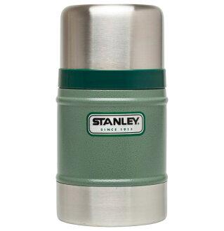 ├登山樂┤ 美國 Stanley 經典真空保溫食物杯/食物罐 0.5L 錘紋綠 #10-00131-GN