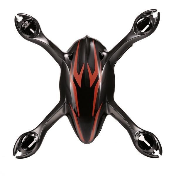 Black Hubsan X4 H107C Quadcopter Crash Accessories Kits 3.7V 380mAh Battery Prop Blades Motor Pack 3