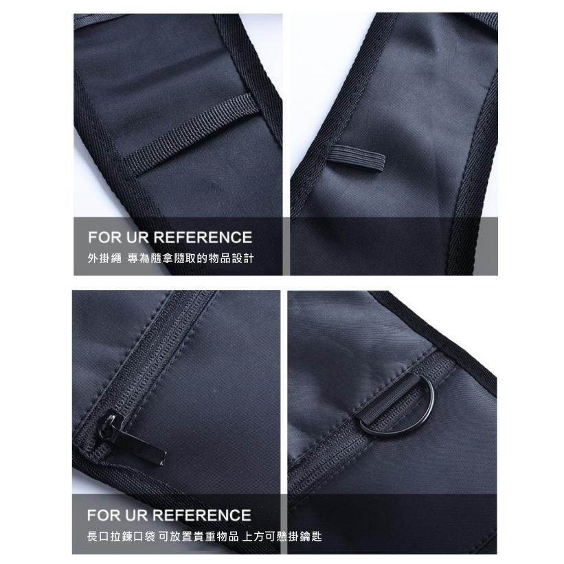 ORG《SG0040》第三代 隱藏式 腋下雙肩包 防盜包 腰包 特工包 隱形背包 背包 運動 側背包 大容量 收納包 4