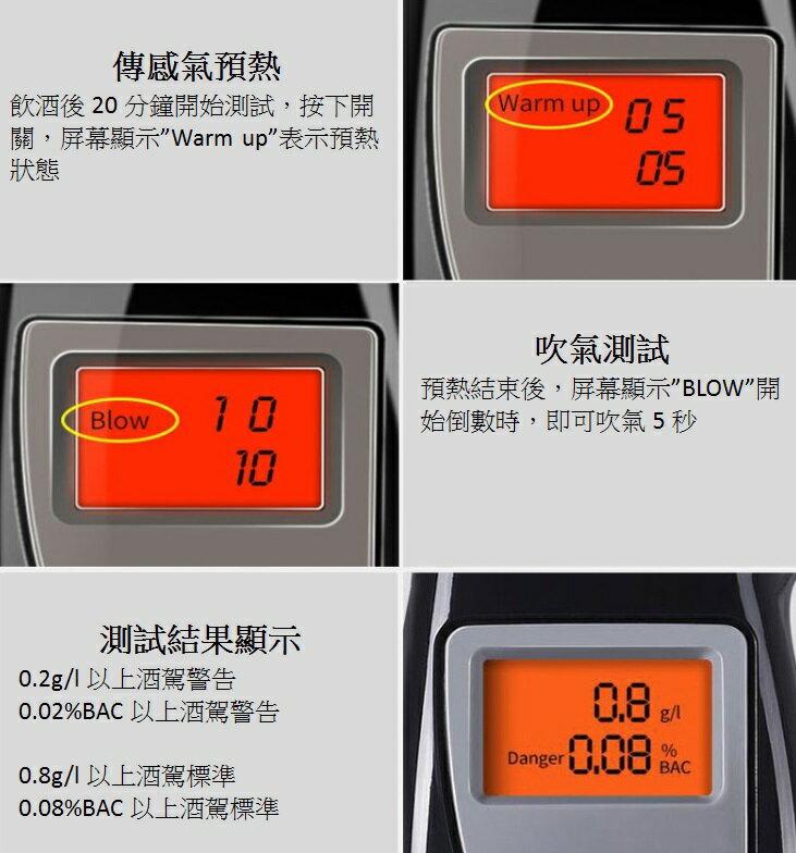 酒測器 LCD背光顯示 呼氣數位酒測 測試器 酒測 酒測器 酒精測試器 吹氣式 測酒精 酒駕 7