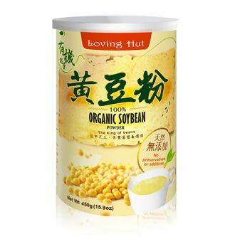 愛家 有機黃豆粉 450g/罐