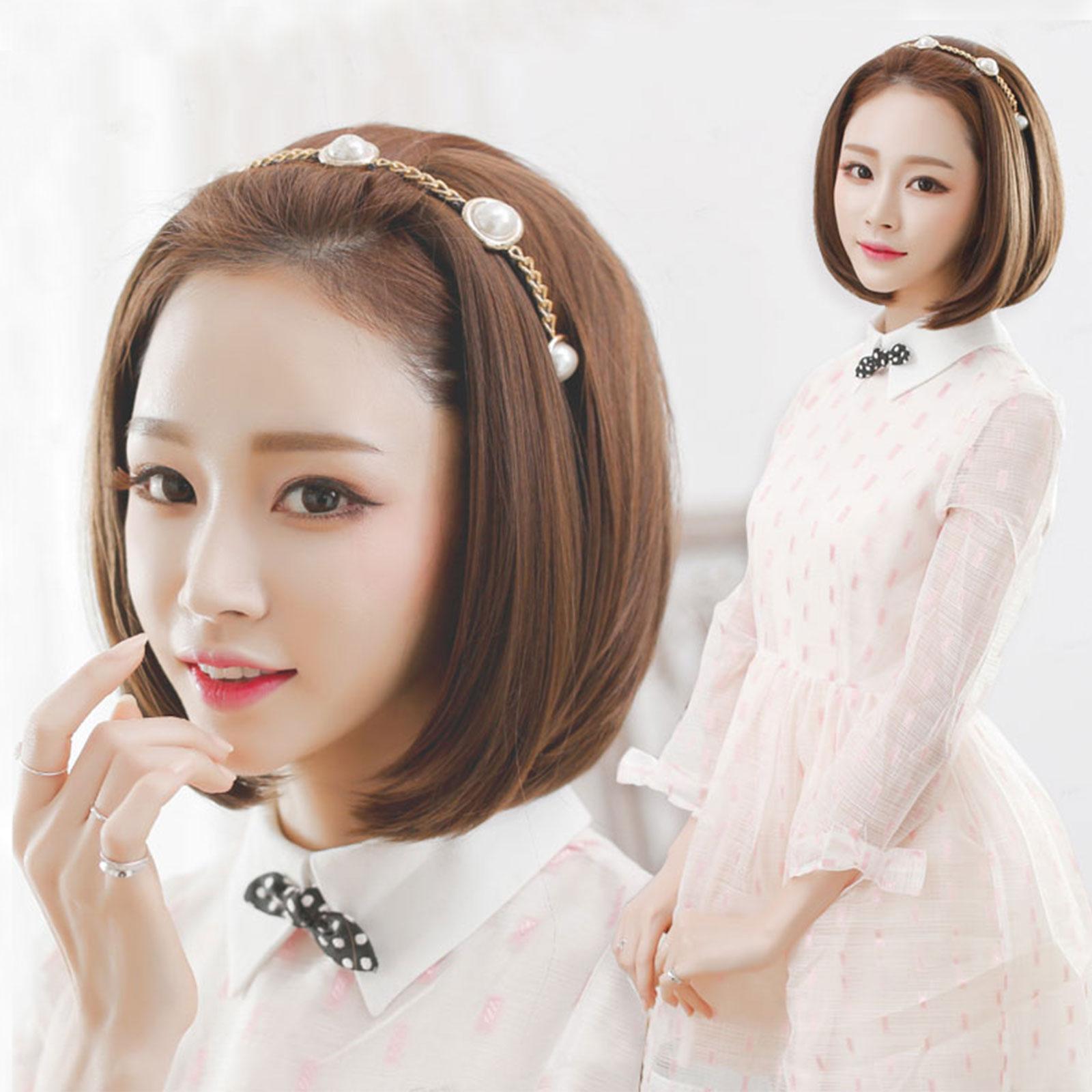 韓系唯美露額頭好清爽~半罩式假髮BOB短髮【MW020】☆雙兒網☆