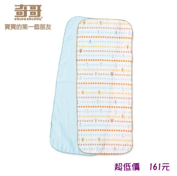*美馨兒*奇哥-快樂森林紗布澡巾(2入)(30x75cm) 161元