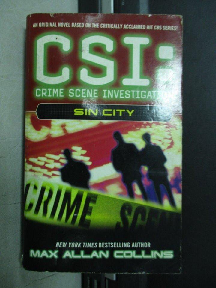 【書寶二手書T6/原文小說_NSZ】CSI:SIN CITY_2003