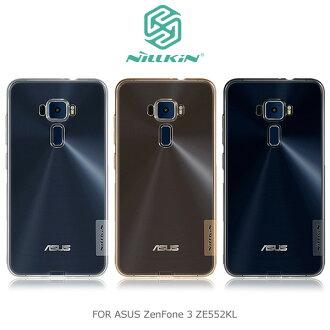 NILLKIN ASUS ZenFone 3 ZE552KL 5.5吋 本色TPU軟套 軟殼 透色套