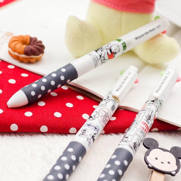 PGS7迪士尼系列商品-小熊維尼Winnie4色筆原子筆(0.5mm)【SHZ80017】