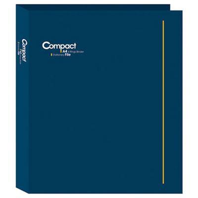 美加美 AO2072 COMPACT A4 3孔夾-藍 /個