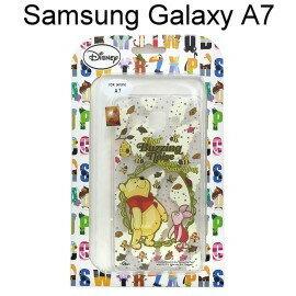 迪士尼透明軟殼 Samsung A700Y Galaxy A7 [花園] 小熊維尼【Disney正版授權】