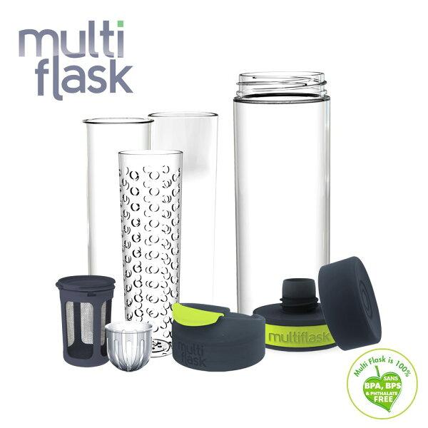 小奶娃婦幼用品:MultiFlask-六合一多功能冷熱水瓶組(6-in-1HydrationSystem)