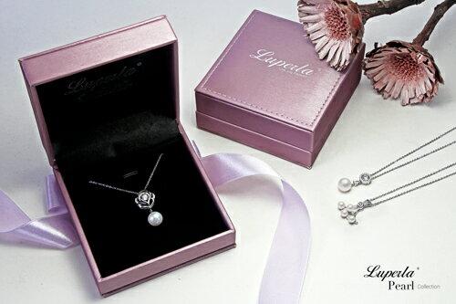 大東山珠寶 純潔浪漫 純銀晶鑽珍珠項鍊 6